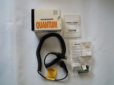 Quantum CZ Turbo Flash Cable -Long ;Fits Canon 440EZ, 480G, 540EZ, 550EX.