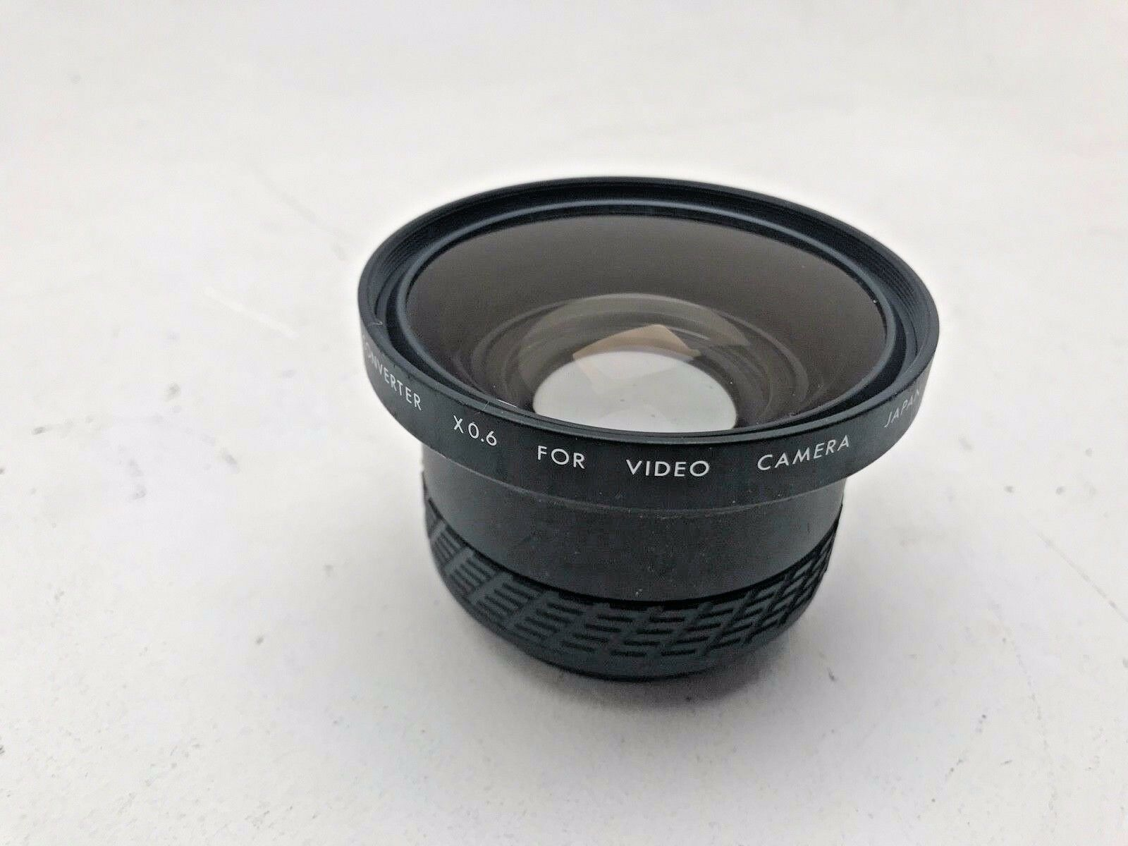 Sigma 0 6x video lens converter to reduce lens focal length by 0 6x